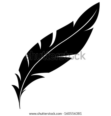 feather icon stock vector 160556381 shutterstock