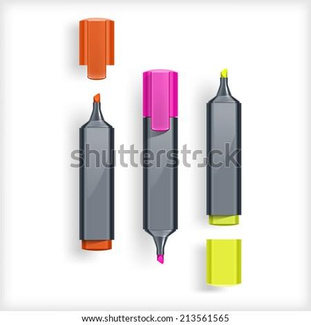 Felt Tip Pen - stock vector