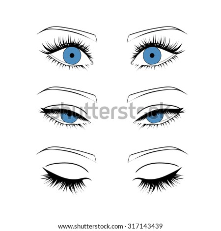 how to draw eyes from the side