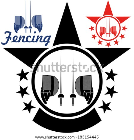 Fencing Sport Vector Stock Photos, Royalty-Free Images & Vectors ...