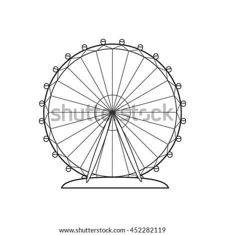 Simple Ferris Wheel Drawing | www.pixshark.com - Images ...