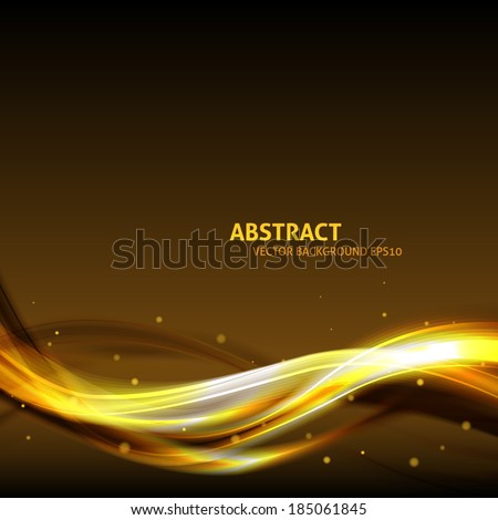 Festive abstract background with copyspace for your text. Vector waves background - stock vector