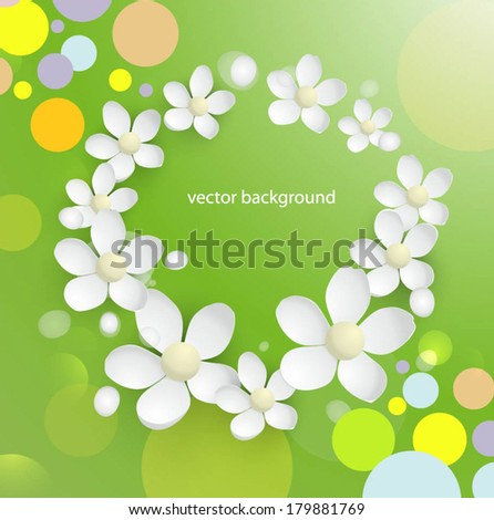 festive background - stock vector