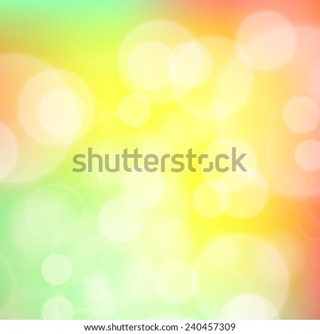 Festive background with de focused lights. Magical background with colorful bokeh. Colorful background with defocused lights