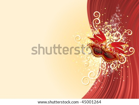 Festive background with text area(vector) - stock vector