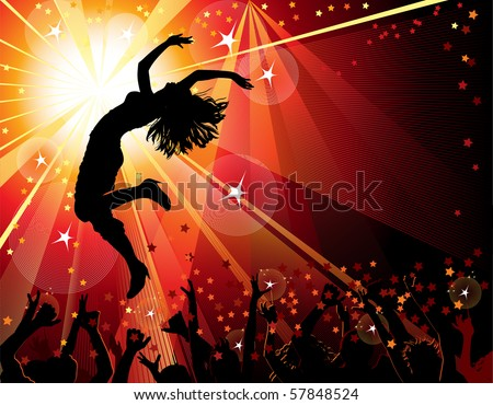 festive party - stock vector