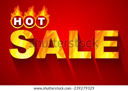 Fiery hot sale design a geometric illustrations. - stock vector