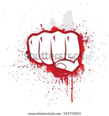 Fight symbol - stock vector