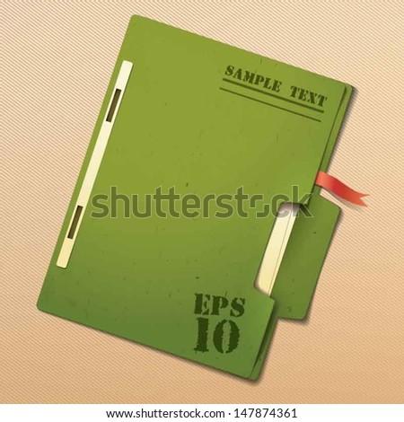 File - stock vector