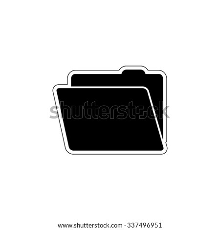 File Folder - vector icon