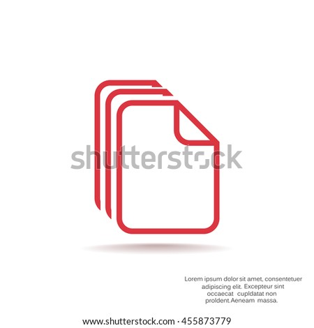 File icon Vector.