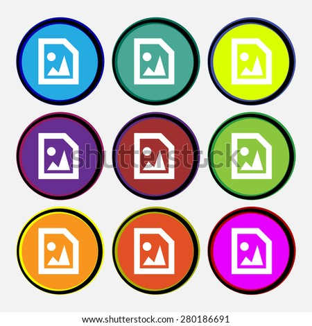 File JPG  - stock vector