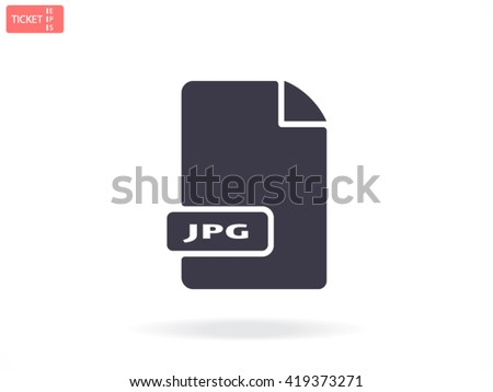 File JPG icon, file JPG icon eps 10, file JPG icon vector, file JPG icon illustration, file JPG icon jpg, file JPG icon picture, file JPG icon flat, file JPG icon design, file JPG icon web,  - stock vector