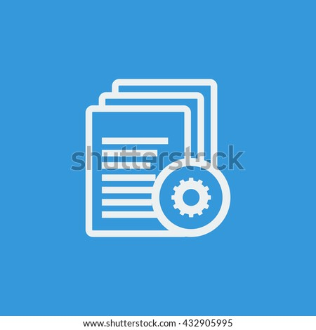 Files Settings Icon, Files Settings Eps10, Files Settings Vector, Files Settings Eps, Files Settings App, Files Settings Jpg, Files Settings Web, Files Settings Flat, Files Settings Art - stock vector