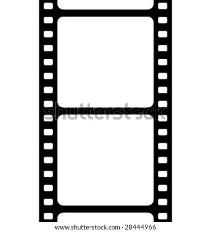 Film background vector - stock vector