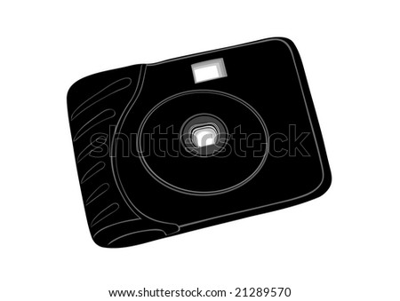 Film disposable camera.Simple chamber for amateur photographers