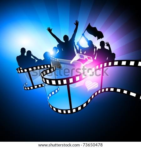 Film Festival Design - stock vector