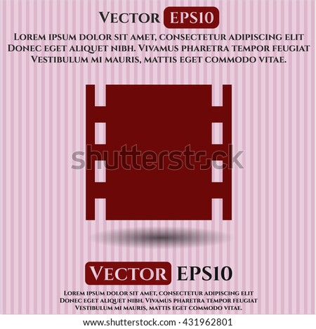 Film icon, Film icon vector, Film icon symbol, Film flat icon, Film icon eps, Film icon jpg, Film icon app, Film web icon, Film concept icon, Film website icon, Film, Film icon vector - stock vector