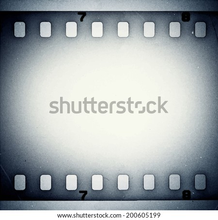 Film strip background. Vector illustration