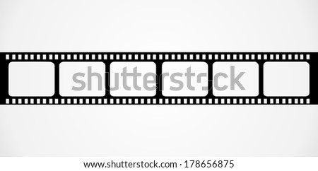 Filmstrip - stock vector