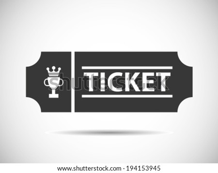 Final Championship Tickets - stock vector