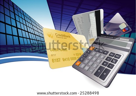 Finance abstract. Vector background - stock vector