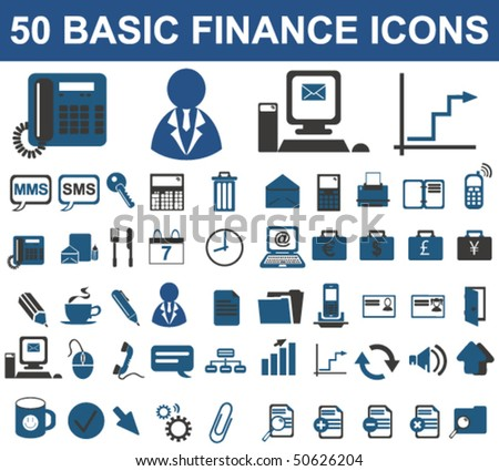 Finance & Business Premium Signs (Vector) - stock vector