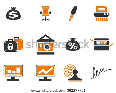 Finance simply icons for web and user interfaces