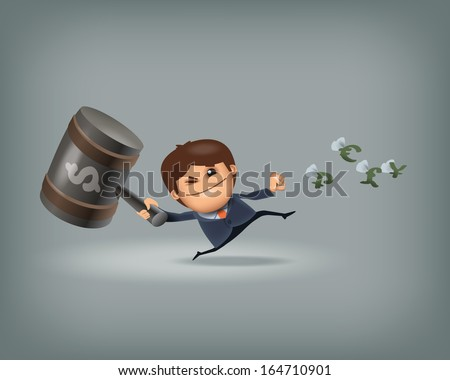 Finance. Vector format - stock vector