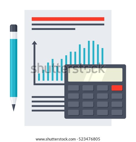 Financial Report Concept