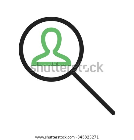 Find, people, users icon vector image. Can also be used for business management. Suitable for use on web apps, mobile apps and print media.