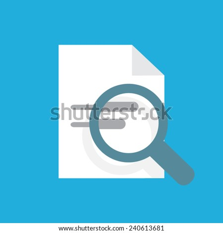 find research  - stock vector