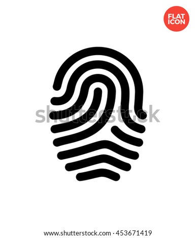 fingerprint icon stock images, royalty-free images & vectors