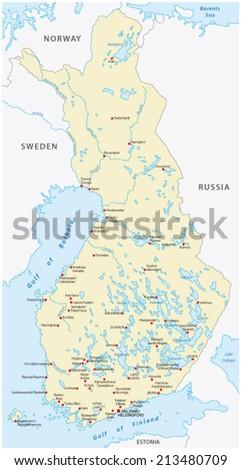 Lapland Map Stock Images RoyaltyFree Images Vectors Shutterstock - Sweden lapland map