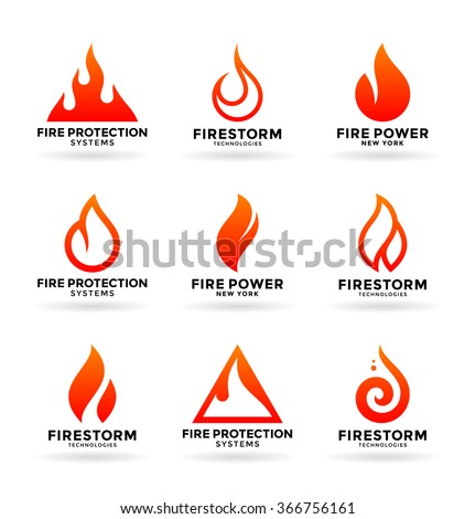 Fire (2) - stock vector