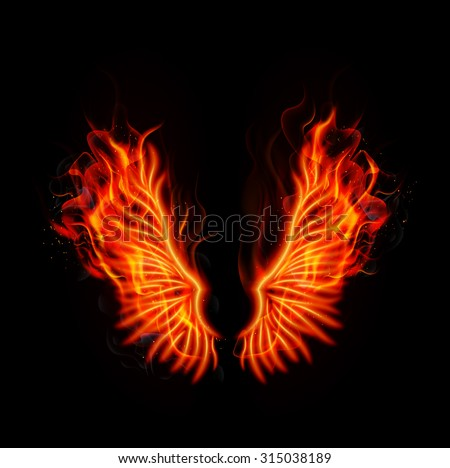 Fire Wings Stock Images, Royalty-Free Images & Vectors ...