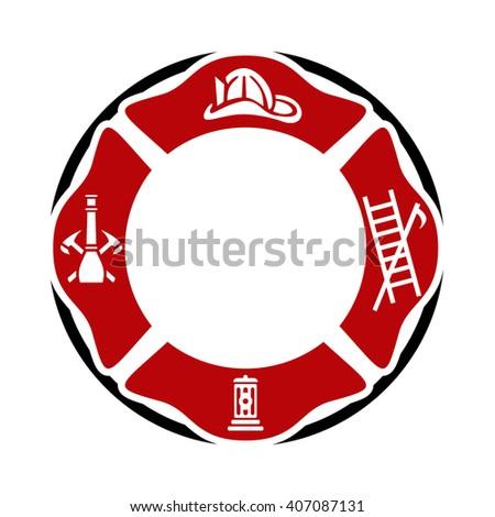 fireman badge stock images royaltyfree images amp vectors