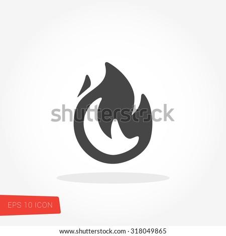Fire Icon / Fire Icon Vector / Fire Icon Picture / Fire Icon Drawing / Fire Icon Image / Fire Icon Graphic / Fire Icon Art / Fire Icon JPG / Fire Icon JPEG / Fire Icon EPS / Fire Icon AI - stock vector