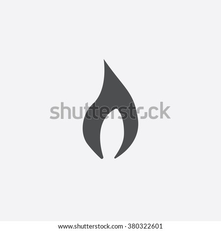 fire Icon Vector. fire Icon Art. fire Icon Picture. fire Icon Image. fire Icon logo. fire Icon Sign. fire Icon Flat. fire Icon design. fire icon app. fire vector design, white background - stock vector