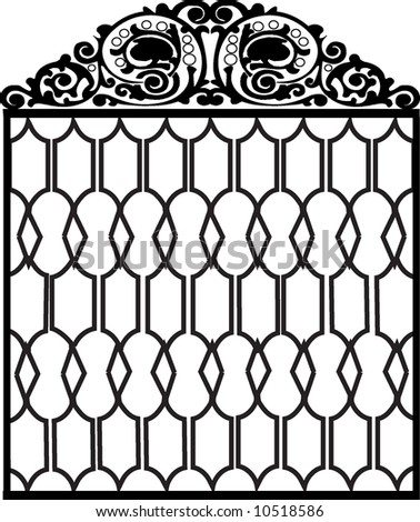 Goodwill Cabi  Door Makeover furthermore Gate 6011884 in addition Grandchildren Wall Quotes Decal together with Wrought Iron Home Accents besides Iron gate. on black wrought iron door s