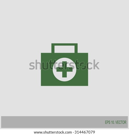 first aid icon, hospital