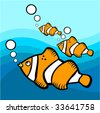 fish graphic vector - stock vector