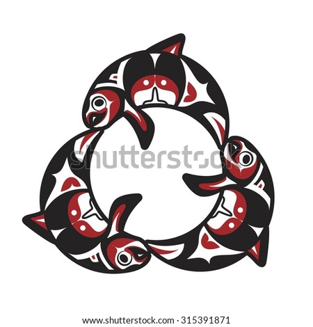 fish trout alaska fishing logo vector eps 8