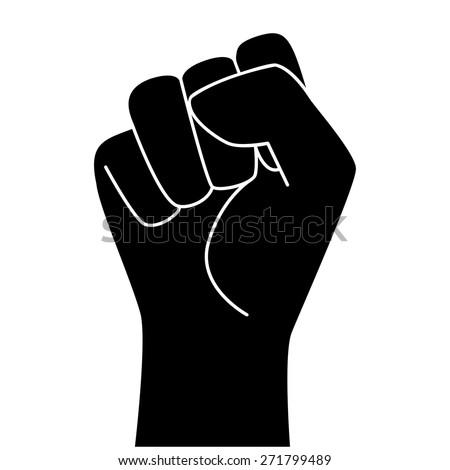 Cure woman clenched fist symbol jewelry prima apparizione