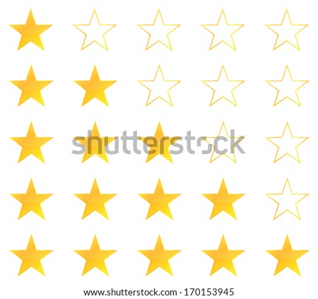 Five Star Premium Quality Product Vector - stock vector
