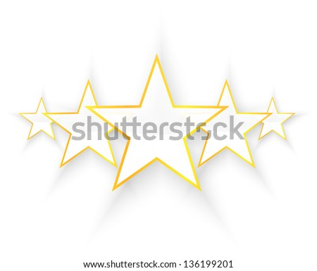 Five Star Quality - stock vector