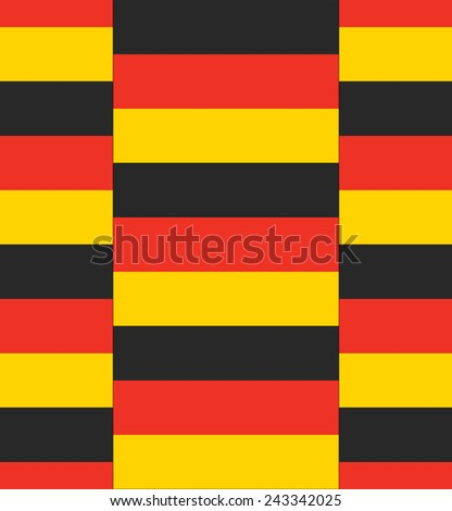 Flag Germany texture vector illustration