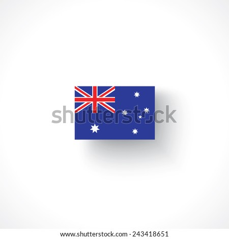 flag of Australia - stock vector