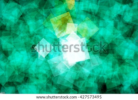 Flag of Macau (Macao Special Administrative Region of the People's Republic of China) in Vector Square Design - stock vector