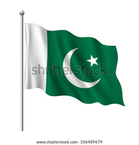 Pakistan Flag Stock Ph...